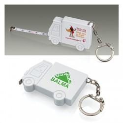 Porte-clés mètre ruban camion