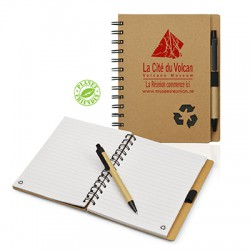 Bloc-notes ECO avec son stylo